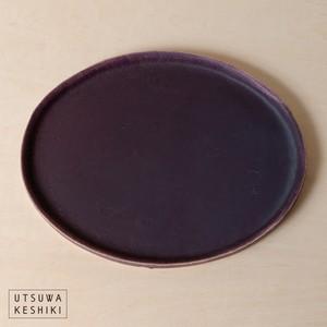 [蓮尾 寧子]深紫だえんプレート