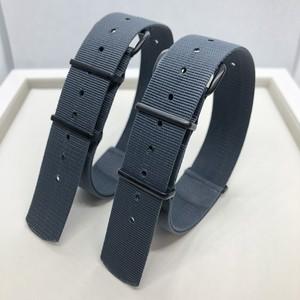 【限定カラー】イギリスPHONEIX社製 G10スペック NATOストラップ ブラック金具 グレー  20mm/22mm 腕時計ベルト