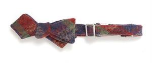 ビンテージ ツイード ボウタイ Intro Tweed Plaid Bow Tie