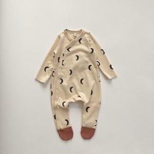 organic zoo / Pebble Midnight Suit w contrast feet
