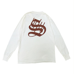 scar /////// BIG 7/ OE L/S TEE (Off White)