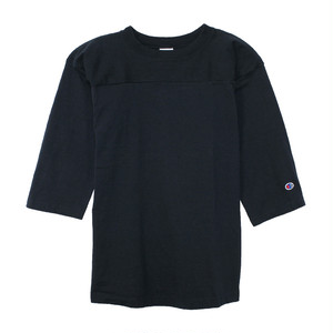 Champion / チャンピオン | T1011 FOOTBALL 3/4 SLEEVE Tee - Navy