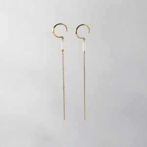 SUZURAN / Baby Pearl Hook Earrings (Long)