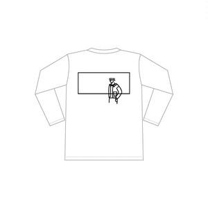 ロングTシャツ_バックデザイン_ホワイト_b