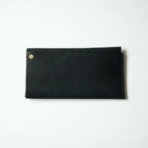 square long wallet - bk - プエブロ