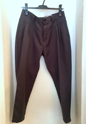 Stretch Twill Tapered Pants Charcoal
