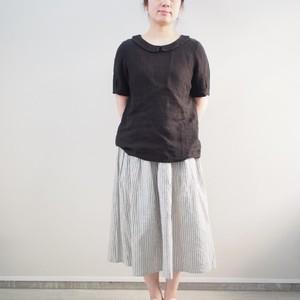 YAMMA 襟付き半袖ブラウス ME-SH ヤンマ産業