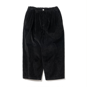 TIGHTBOOTH CORD BAGGY PANTS BLACK