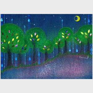 「森の唄」タペストリー