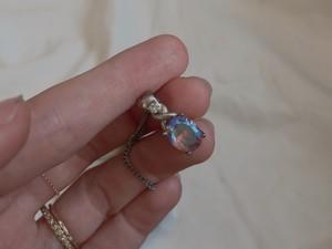 Vintage opal necklace
