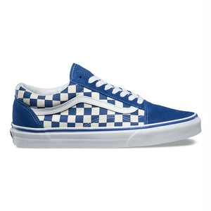 限定★【VANS★OLD SKOOL】PRIME CHECK (BLUE):26cm 在庫確保