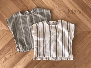 SALE《韓国子供服》即日発送★後ろボタンブラウス blouse