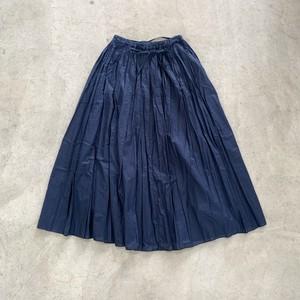 【 FRANCESCA AMAM LABEL 】ギャザーロングスカート