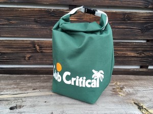 Critical Slide ROLL TOP LUNCH BAG  Green DRG2004