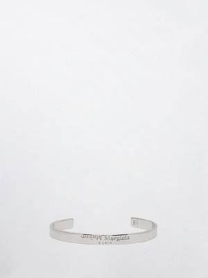 MAISON MARGIELA Silver Logo Bracelet Silver SM1UY0023