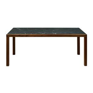 トリアンゴロ ダイニングテーブル ウォールナット 天然大理石 1800