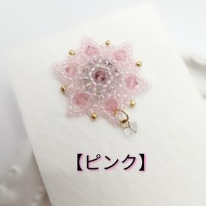 【マスクチャームジュエリー】アマリリス