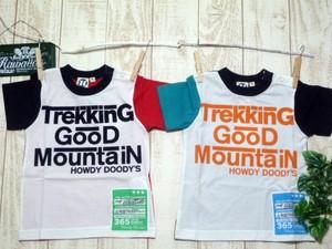 双子ベビー服2枚セット★ボーイズツイン★デザインロゴ半袖Tシャツ2枚セット<bt018-1304-8>