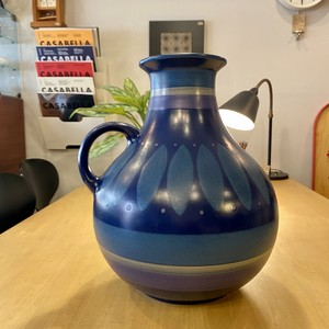 """70's SPAIN """"PORTA CELI"""" Vintage ceramic Vase Φ280×H350"""