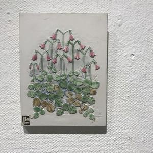 スウェーデンのリネアの陶板