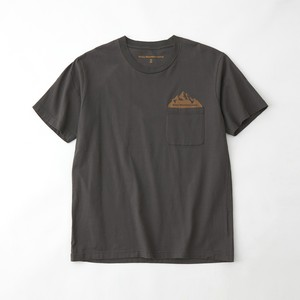 POCKET PRINTED T-SHIRT - GRAY