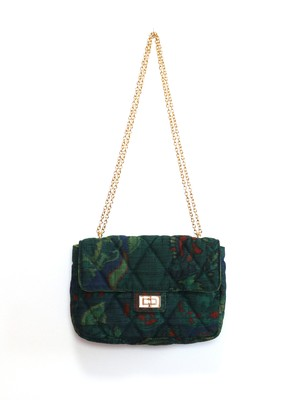 QUILTED CHAIN BAG - 03