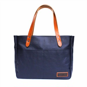 BERMAS 「COMMUTE」 HORIZONTAL ZIP TOTE <NAVY>