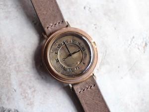 大きめ刻印時計