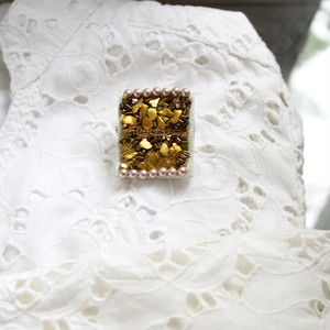 Beatrice Brooch(gold)