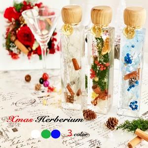 2019クリスマスハーバリウム3color(christmas herbarium)