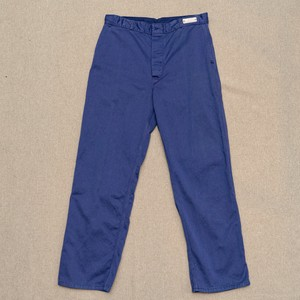 OLD COTTON WORK PANTS