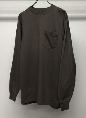 1980s POCKET L/S T-SHIRT
