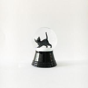 黒猫 B スノードーム PERZY社 S