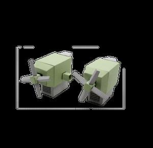 ハコノイド用プロペラユニット[HN005]