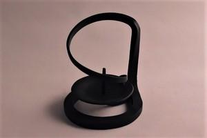 1匁~5匁用 鉄製燭台(線香立てデザイン)