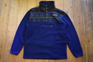 USED 美品 NOMAR アラスカ製 フリースジャケット ネイビー M~L