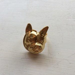 Yochi New York  French Bulldog Ring