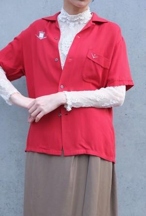 vintage/hikari no ato bowling shirt.