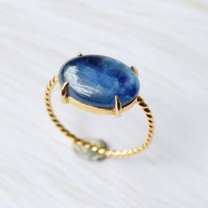 #11 Twist ring カイヤナイト