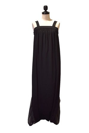ADDICT NOIR / TULLE COMBI SARROUEL ALL IN ONE / Black