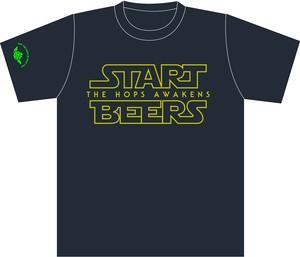 START BEERS Tシャツ スミ〔両面〕【半袖】