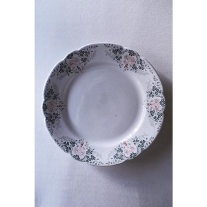 "【c】K G Luneville ""Florence"" plate"
