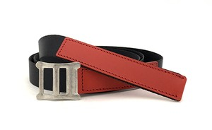 RE.ACT Buttero x Nylon Combi Belt Red