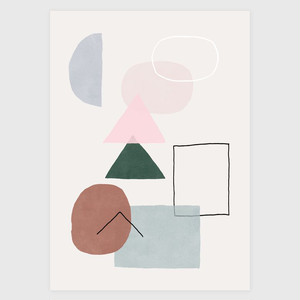 "30% OFF // Hanna Konola Poster ""Pastel Park"""