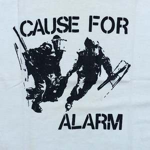 """CAUSE FOR ALARM """"EP Cover"""" USED"""