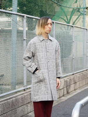 "【SALE】rikolekt ""wall""コート grey"