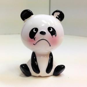 内藤ルネ 陶器のパンダ【座】(0617213S60)