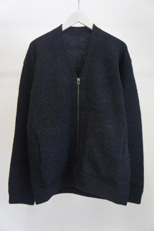 Whole Garment V/N Zip Cardigan / crepuscule