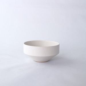 3RD CERAMICS(サードセラミックス) 湯呑 φ8.5 × H4cm ホワイト 岐阜 多治見市 陶器 スタイリッシュ プレゼント テーブルウェア