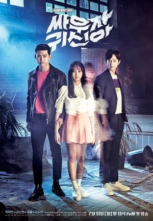 韓国ドラマ【戦おう、幽霊】DVD版 全16話